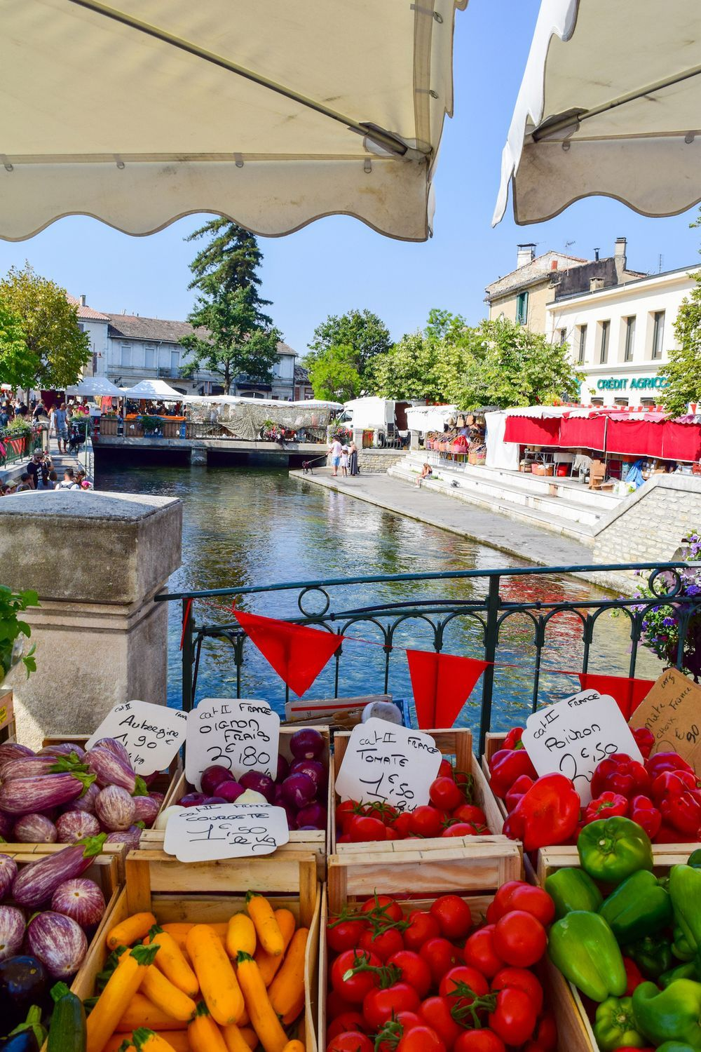 Fruits And Vegetables L'Isle Sur La Sorgue Market