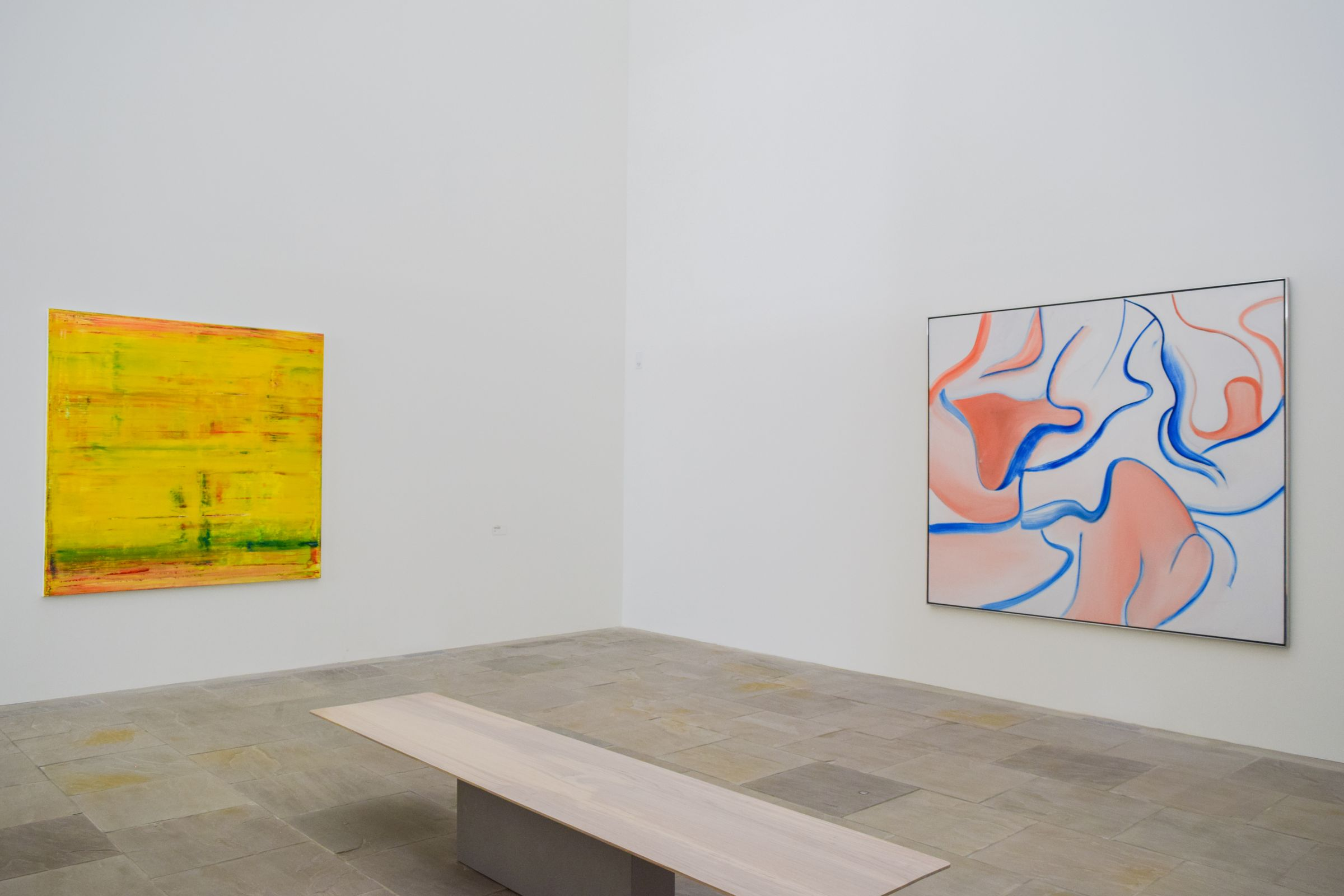 Gerhard Richter And Willem De Kooning Fondation Carmignac