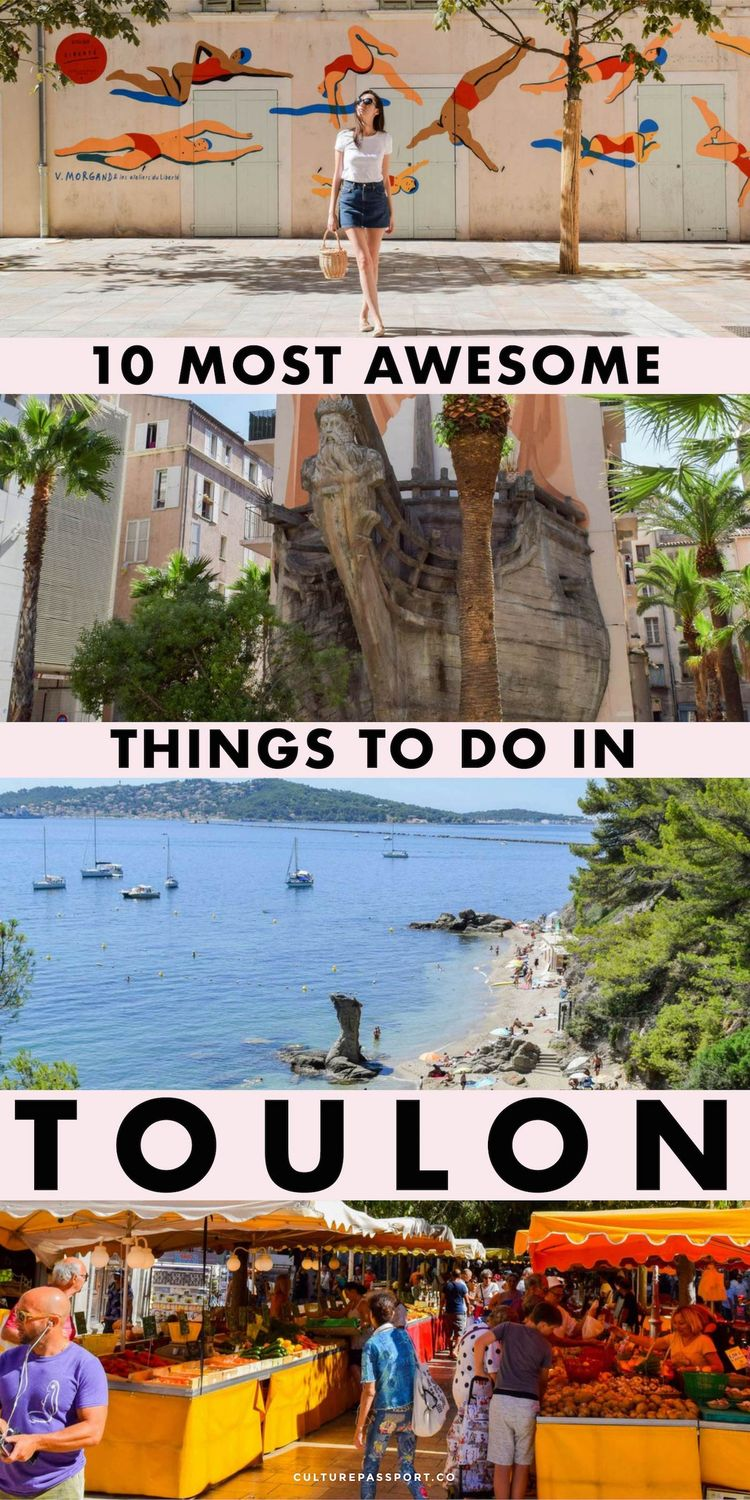 10 Most Awesome Things To Do In Toulon, France!
