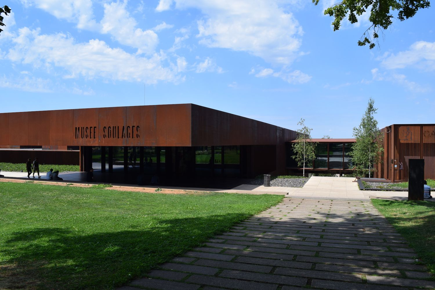Visit the Musée Soulages in Rodez