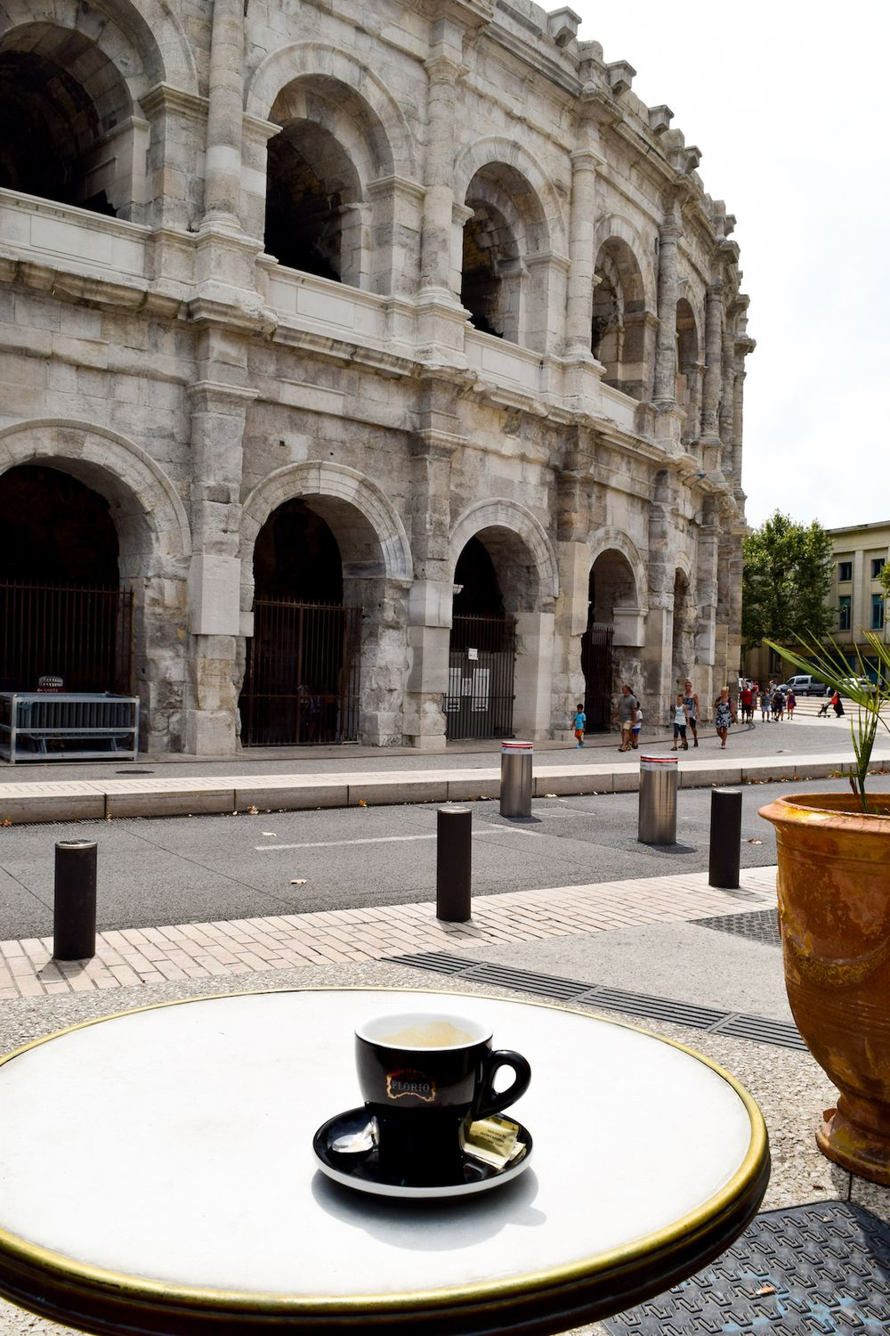 Grand Cafe de la Bourse, Nîmes, France
