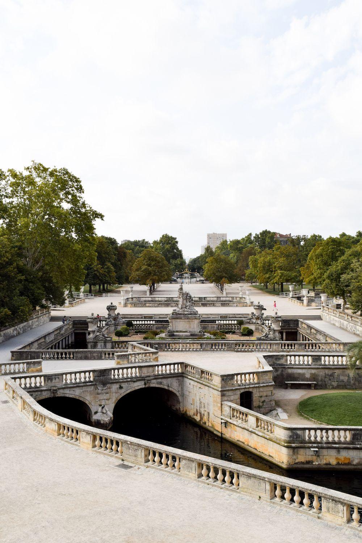 Jardin De La Fontaine, Nîmes, France