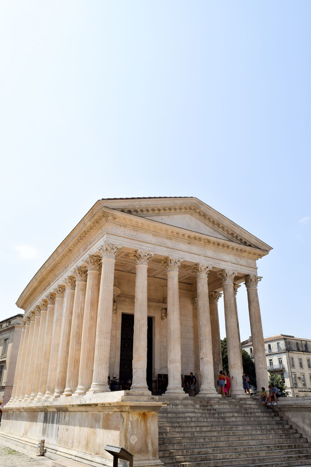 Former Roman Empire in France: Maison Carrée, Nîmes, France