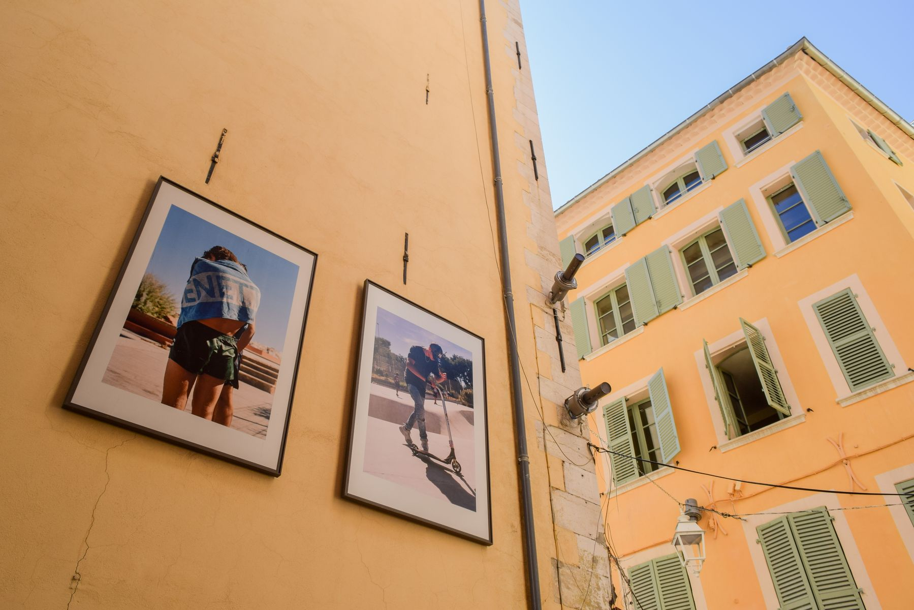 Photography in Old Town Toulon, France