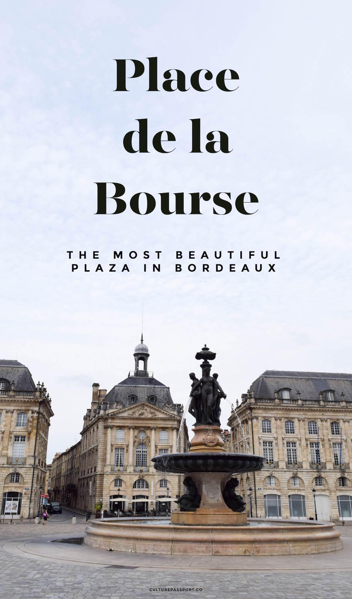 Place de la Bourse - Most Beautiful Plaza in Bordeaux