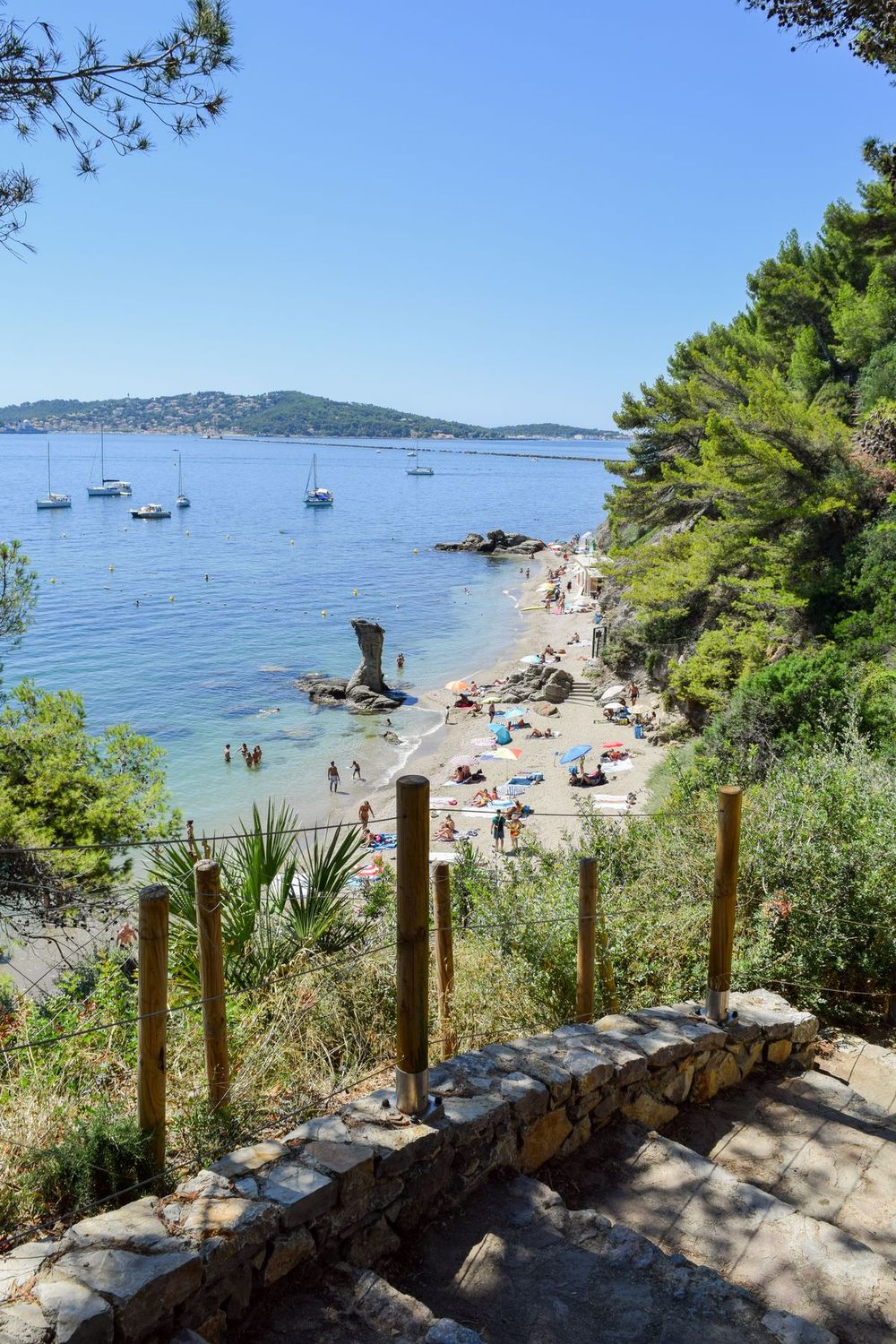 How I Discovered The Most Beautiful Beach In Toulon France