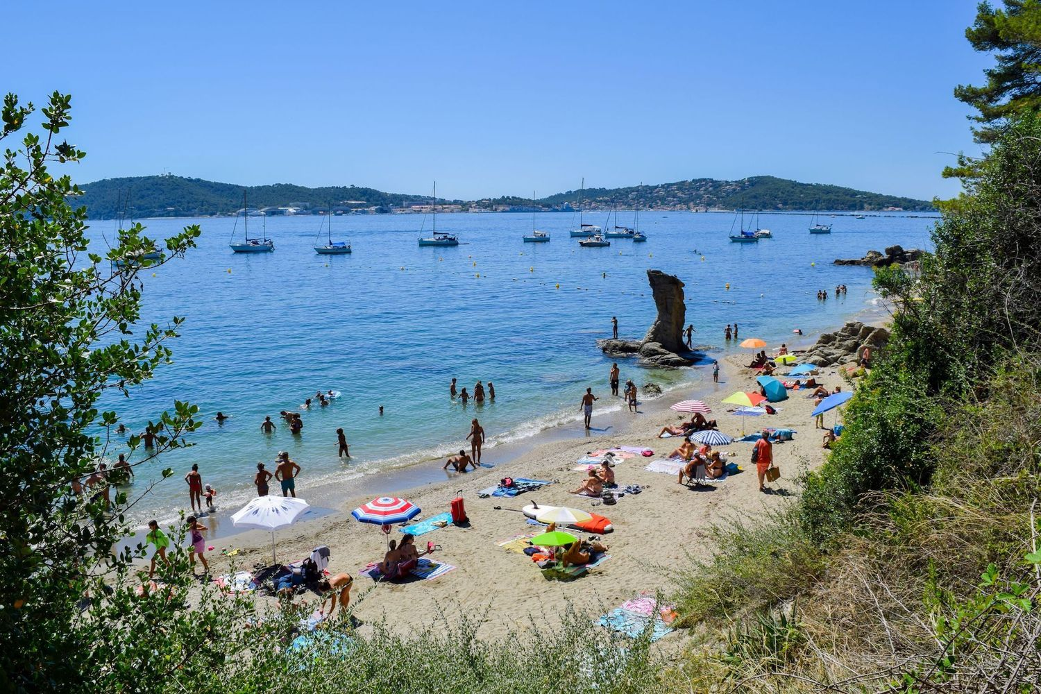 Plage De La Mitre, Toulon, France | Best Beaches in Var, France