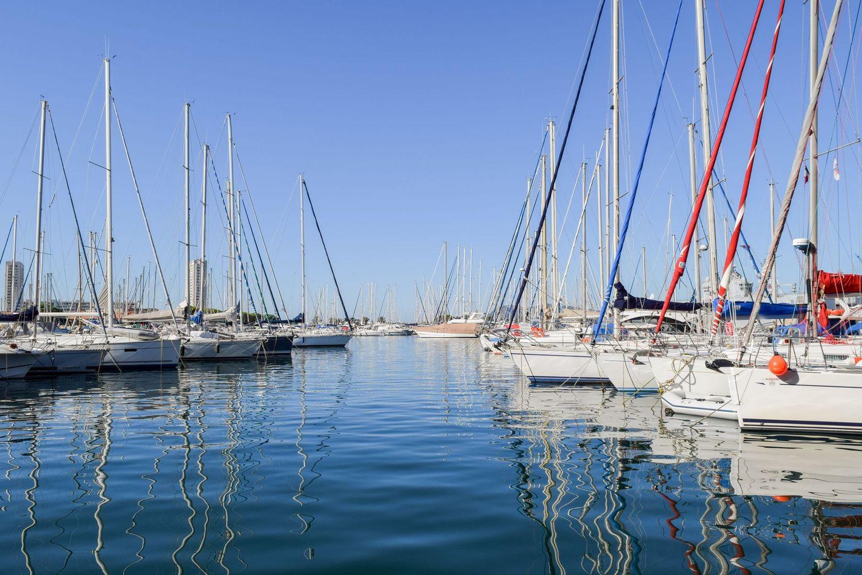 Port of Toulon, Harbor Toulon, Marina Toulon, France