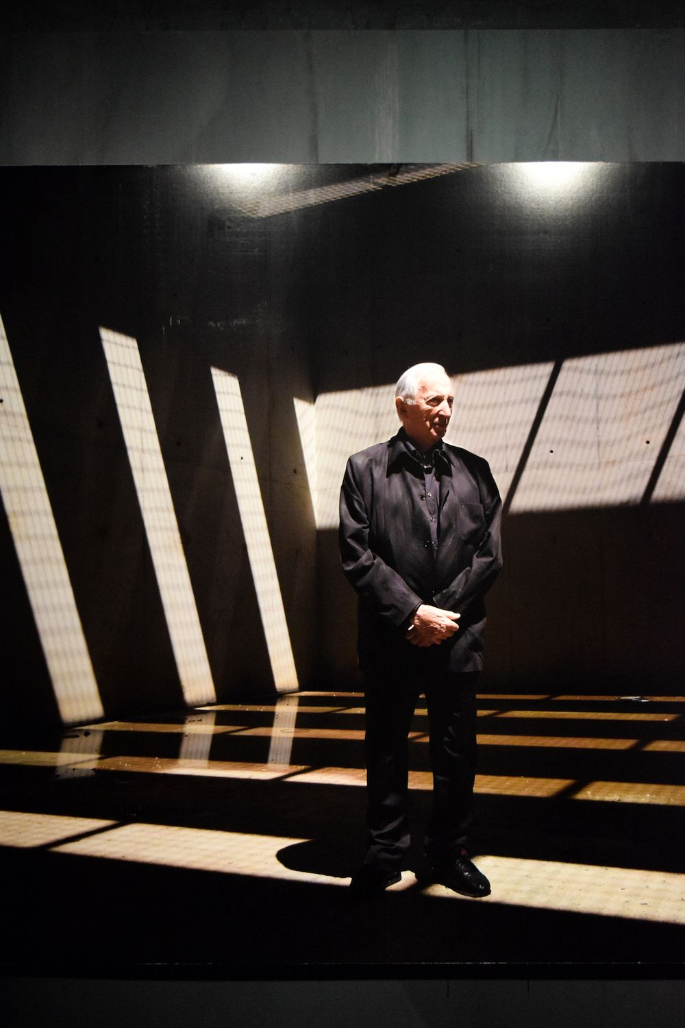 Portrait Of Pierre Soulages