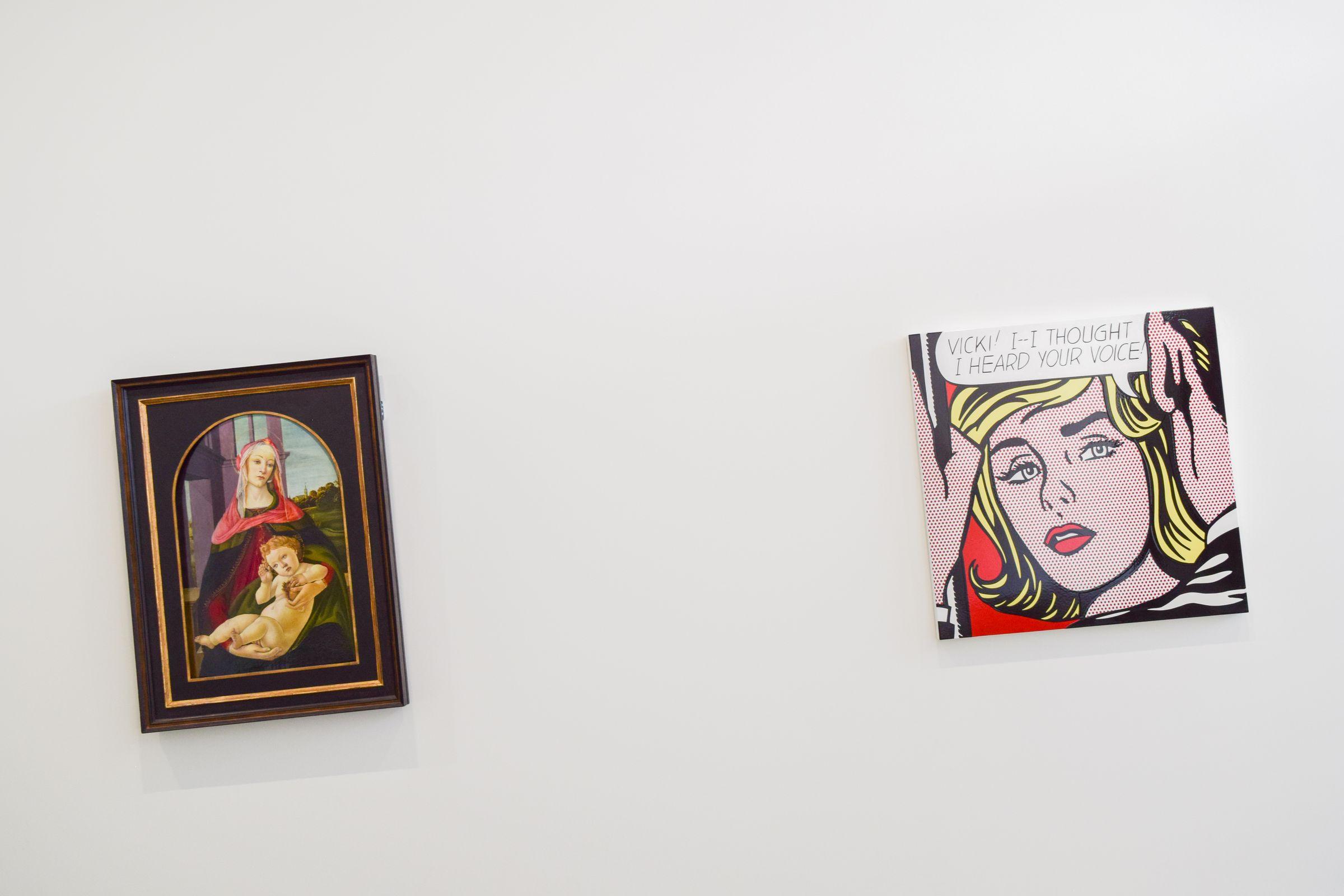 Sandro Botticelli And Roy Lichtenstein Fondation Carmignac Ile De Porquerolles_20180816_DSC_0728