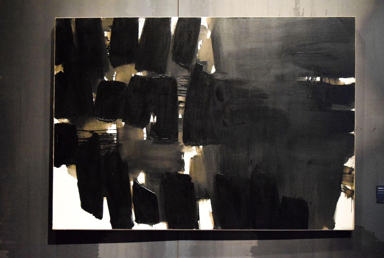 Peinture 19 novembre 1964, Pierre Soulages