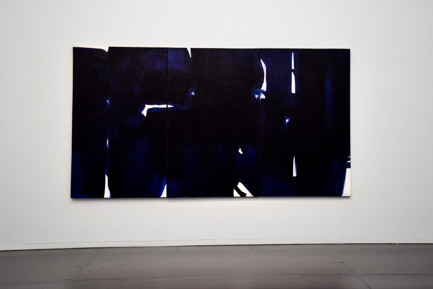 Paintings on Canvas by Pierre Soulages