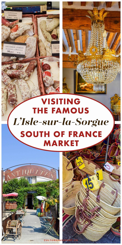 Visiting L'Isle Sur La Sorgue