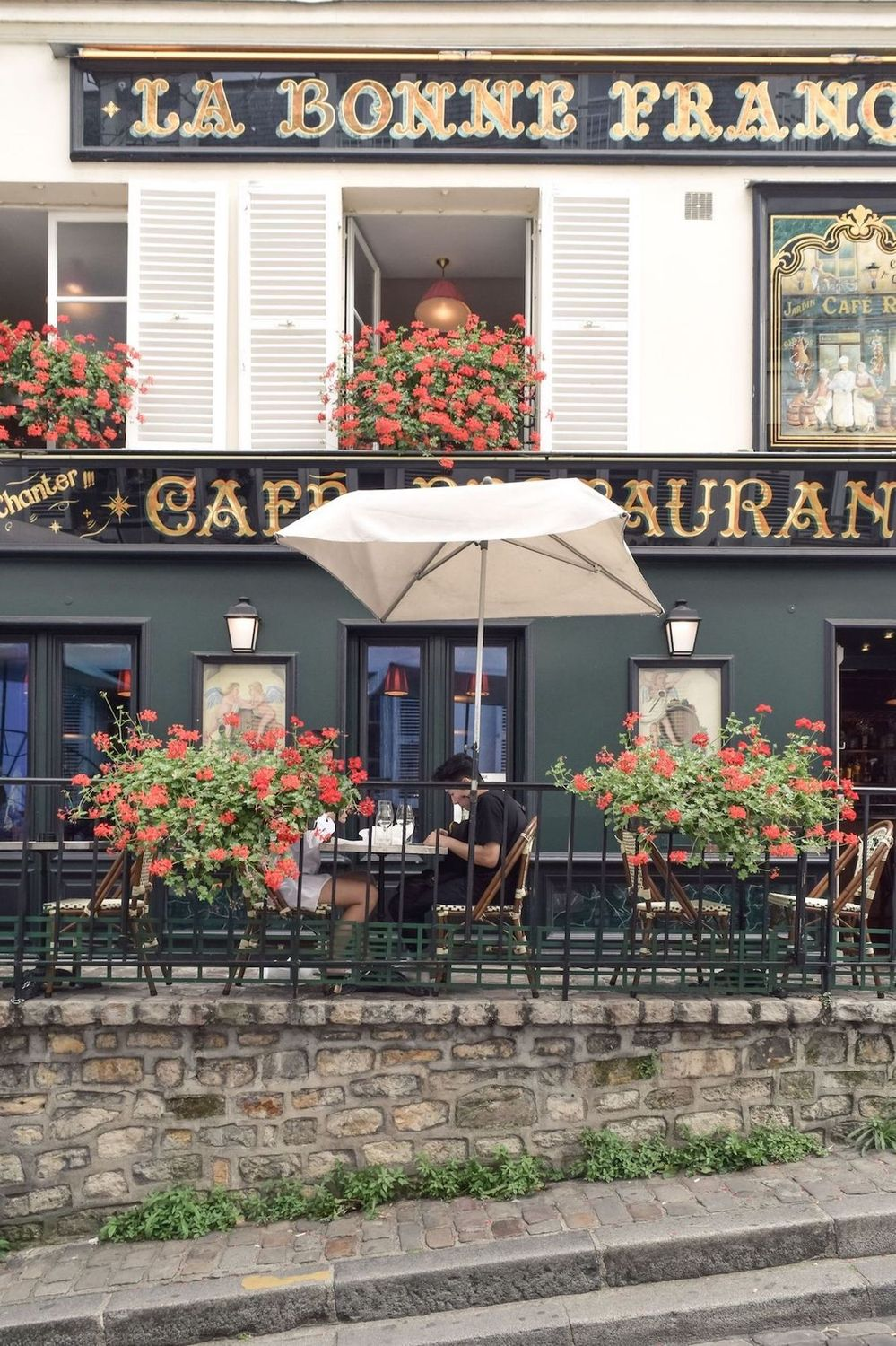 Montmartre Restaurants, Paris