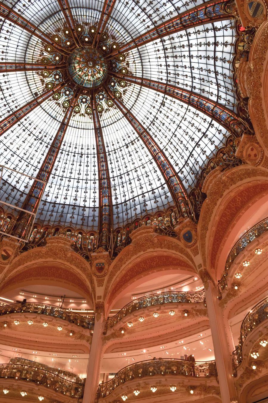 Galeries Lafayette Glass Dome Paris