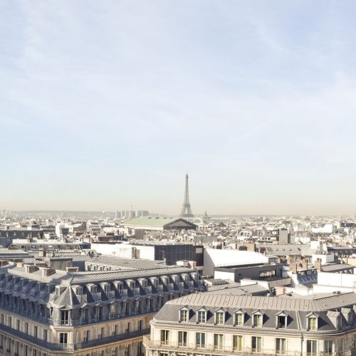 Paris from Above: Galeries Lafayette