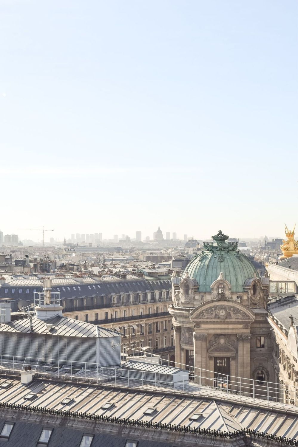 View from Galeries Lafayette, Paris