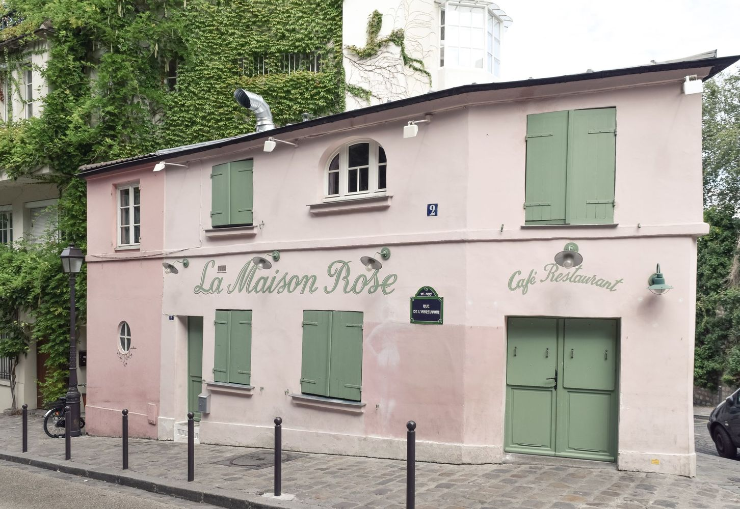 Things to do in Montmartre - La Maison Rose, Paris