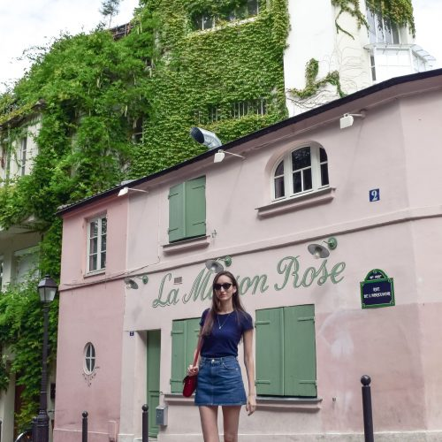 La Maison Rose: The Most Instagrammable Pink House in Paris