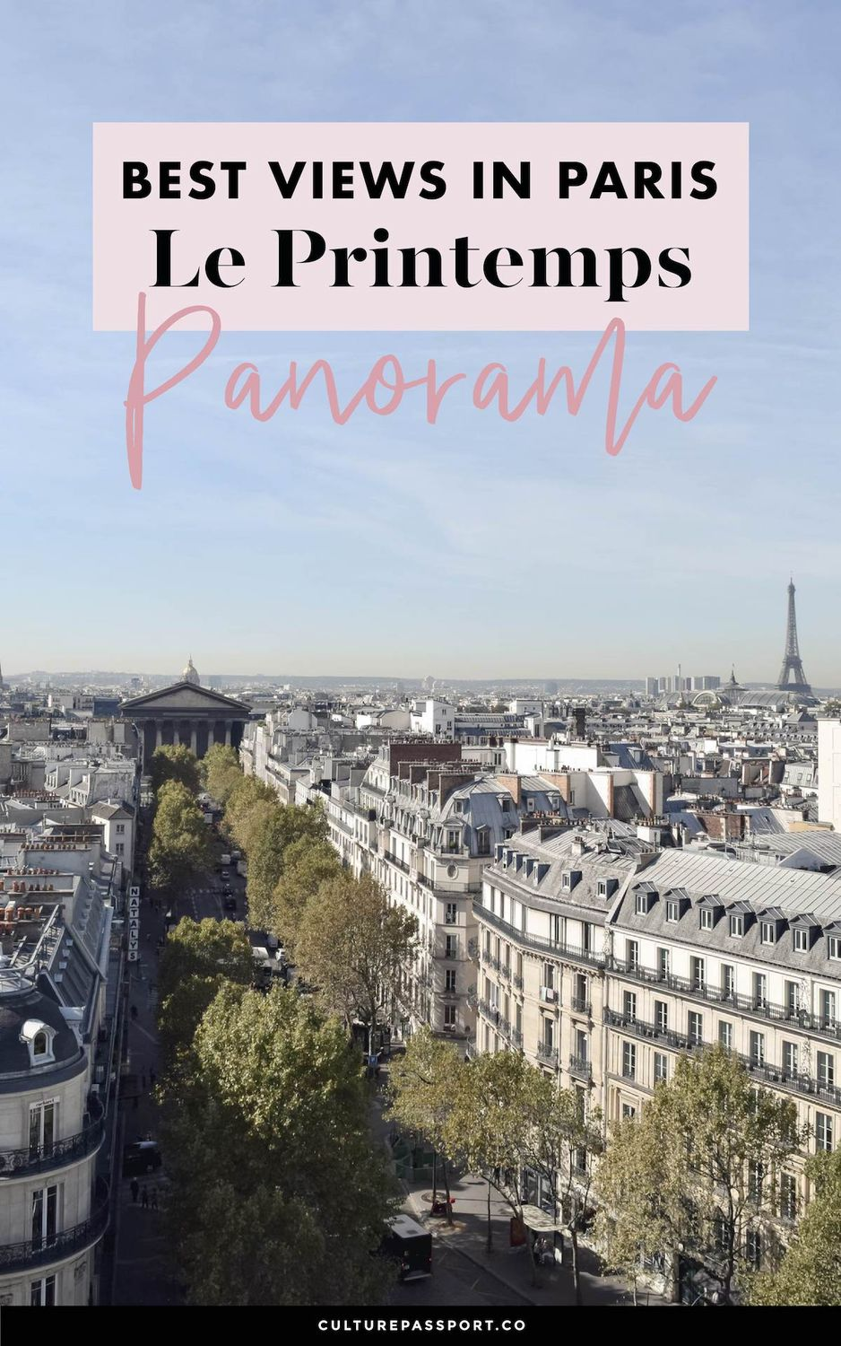 Le Printemps Best Views In Paris
