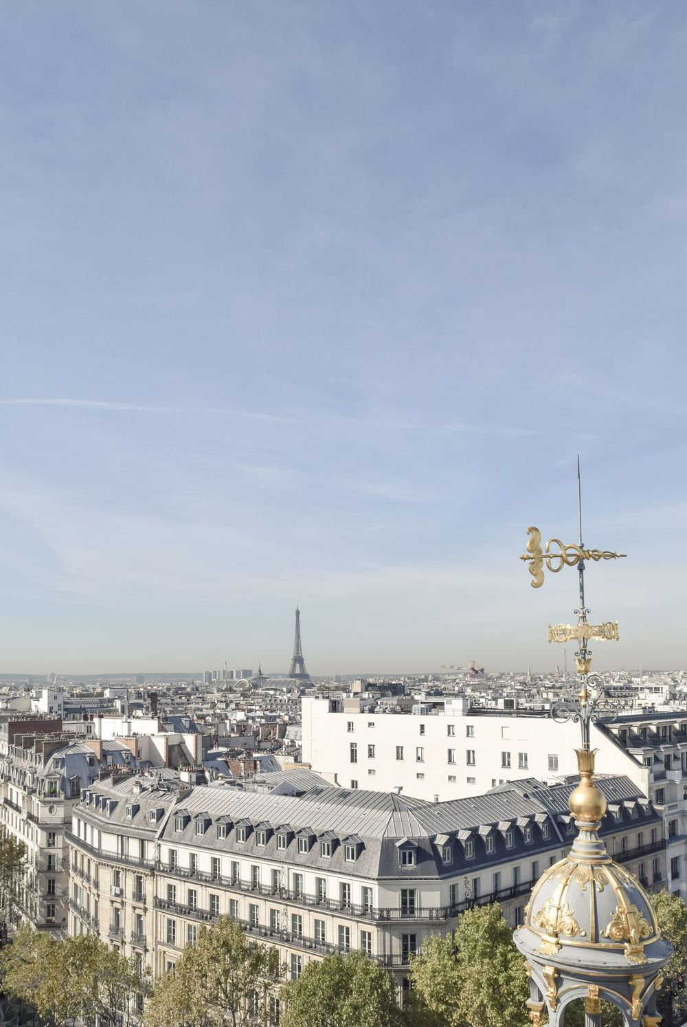 Le Printemps Paris View from the Roof