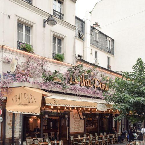 Le Vrai Paris Restaurant : An Adorable Bistrot in Montmartre