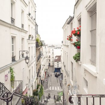 Montmartre Stairs, Paris