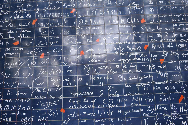 Mur Des Je T'aime, Paris