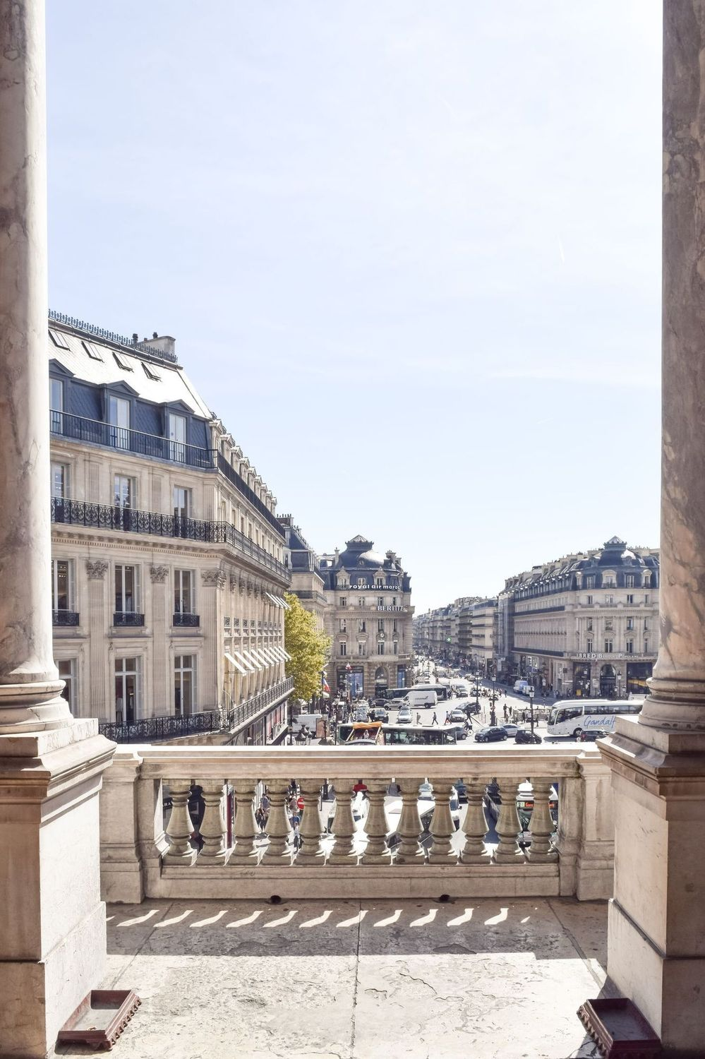 View of Place de l'Opéra, Palais Garnier Paris