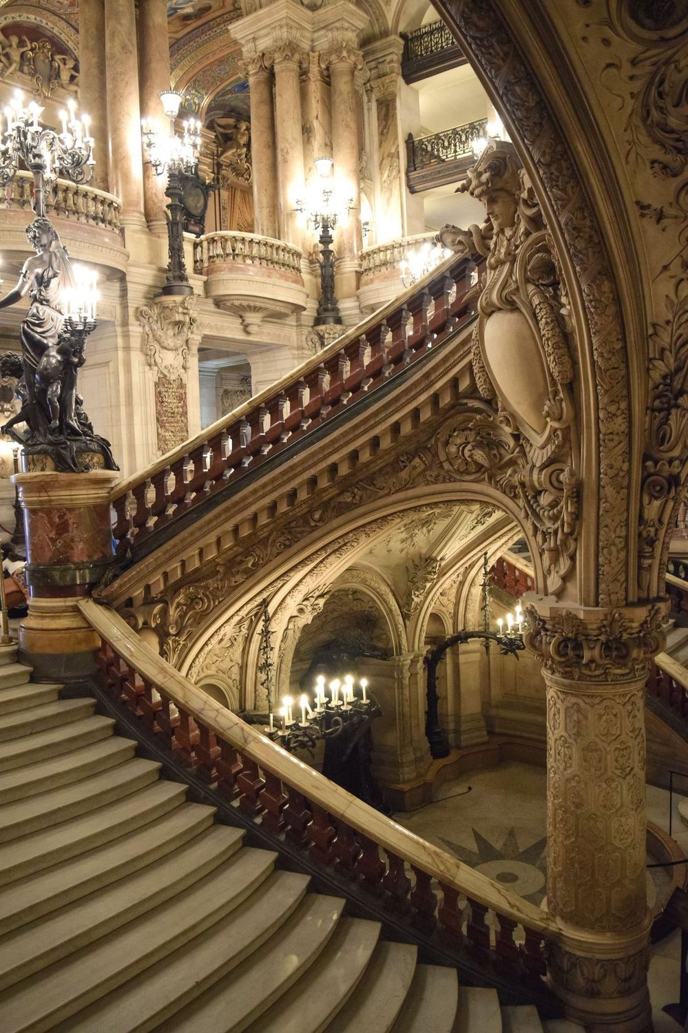 Grand Escalier, Palais Garnier Paris