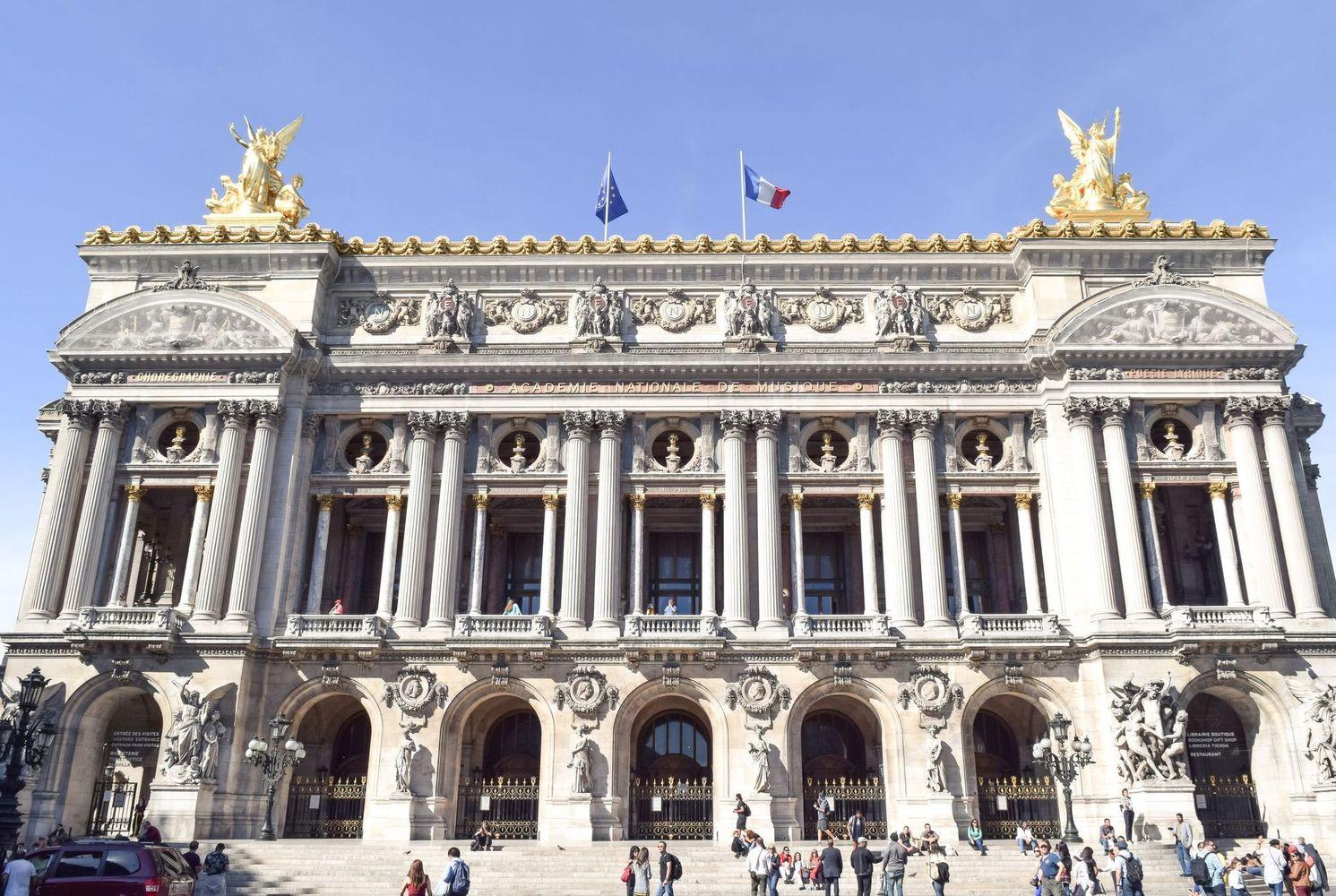 Palais Garnier Paris Façade