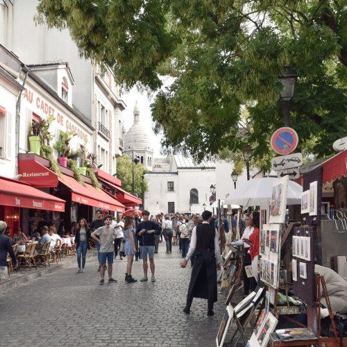 Place du Tertre, Montmartre | Paris
