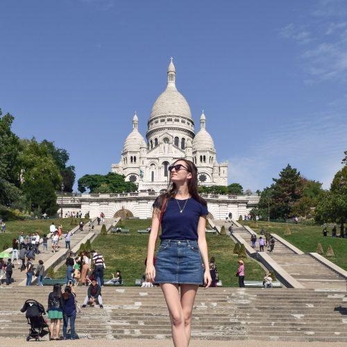 Visiting the Sacré-Cœur in Montmartre, Paris