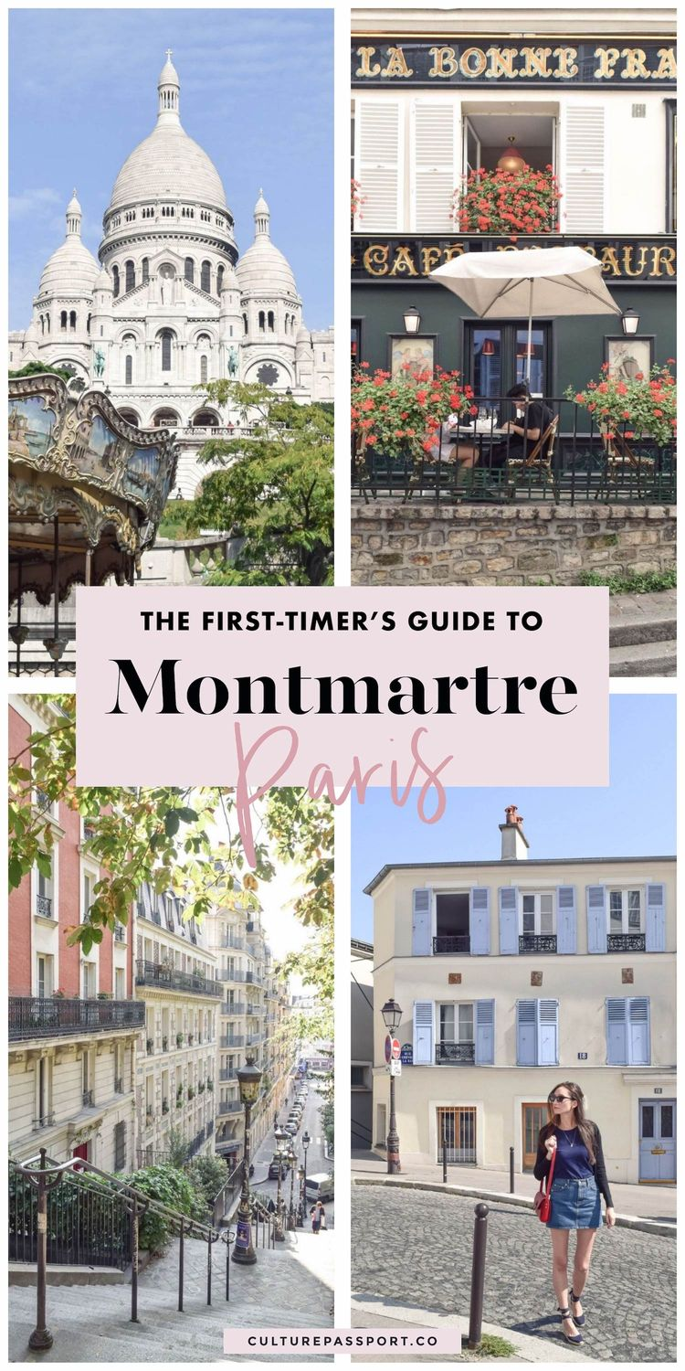 A First Timer's Guide To Montmartre Paris