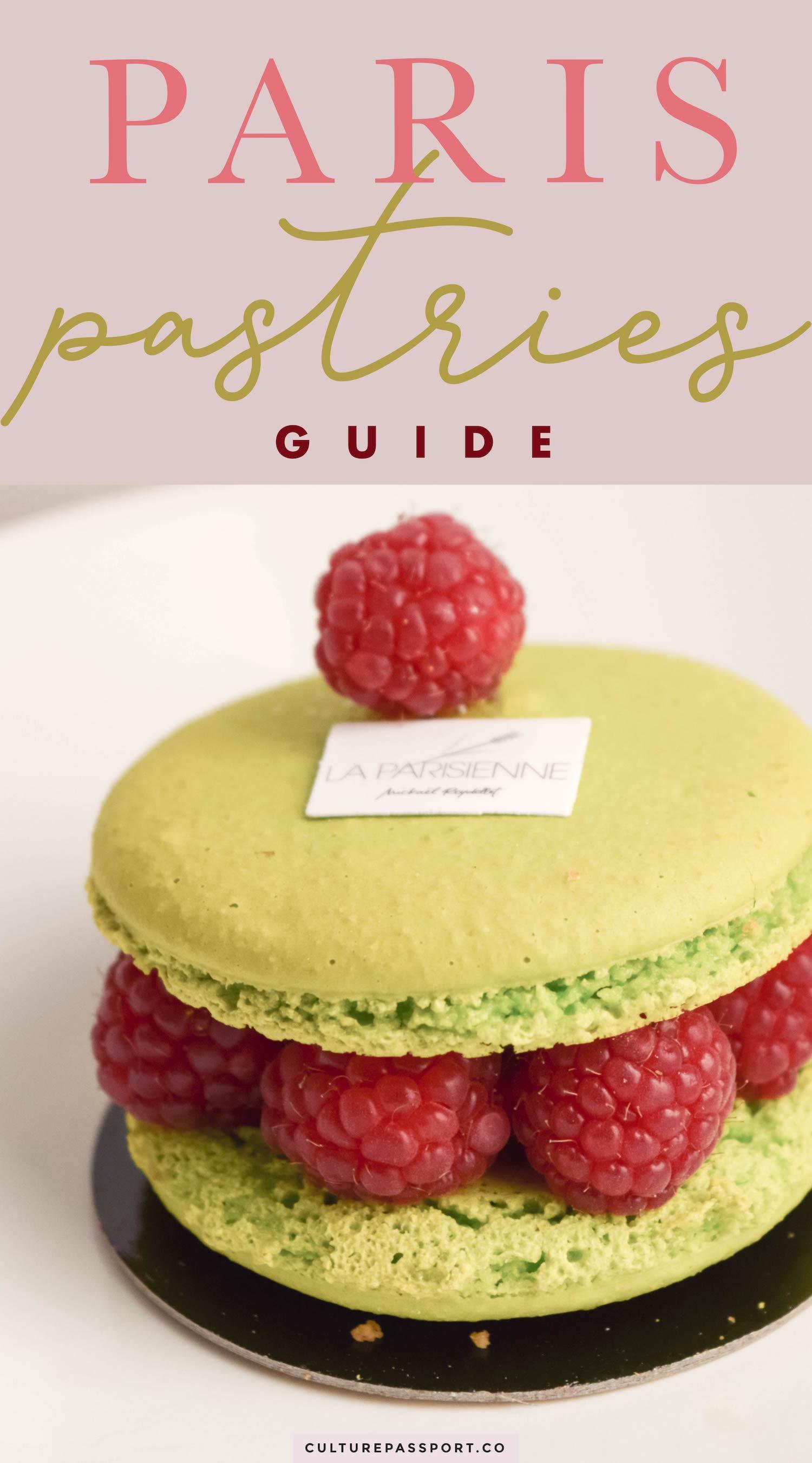 The Paris Pastries Guide!!