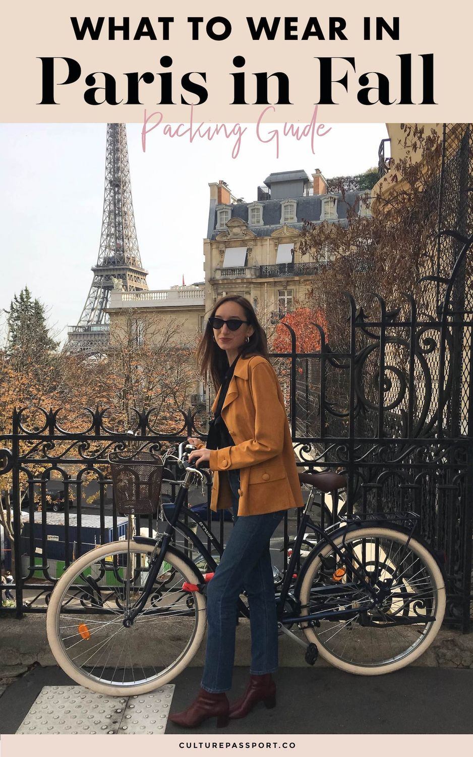 What To Wear In Paris In Fall Guide / Paris Fall Packing List
