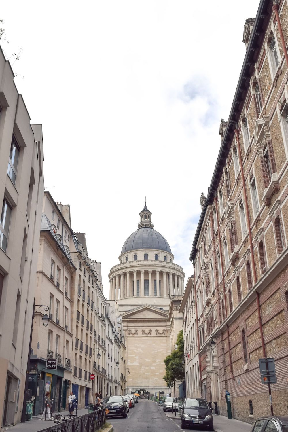 View of the Panthéon from Rue Valette