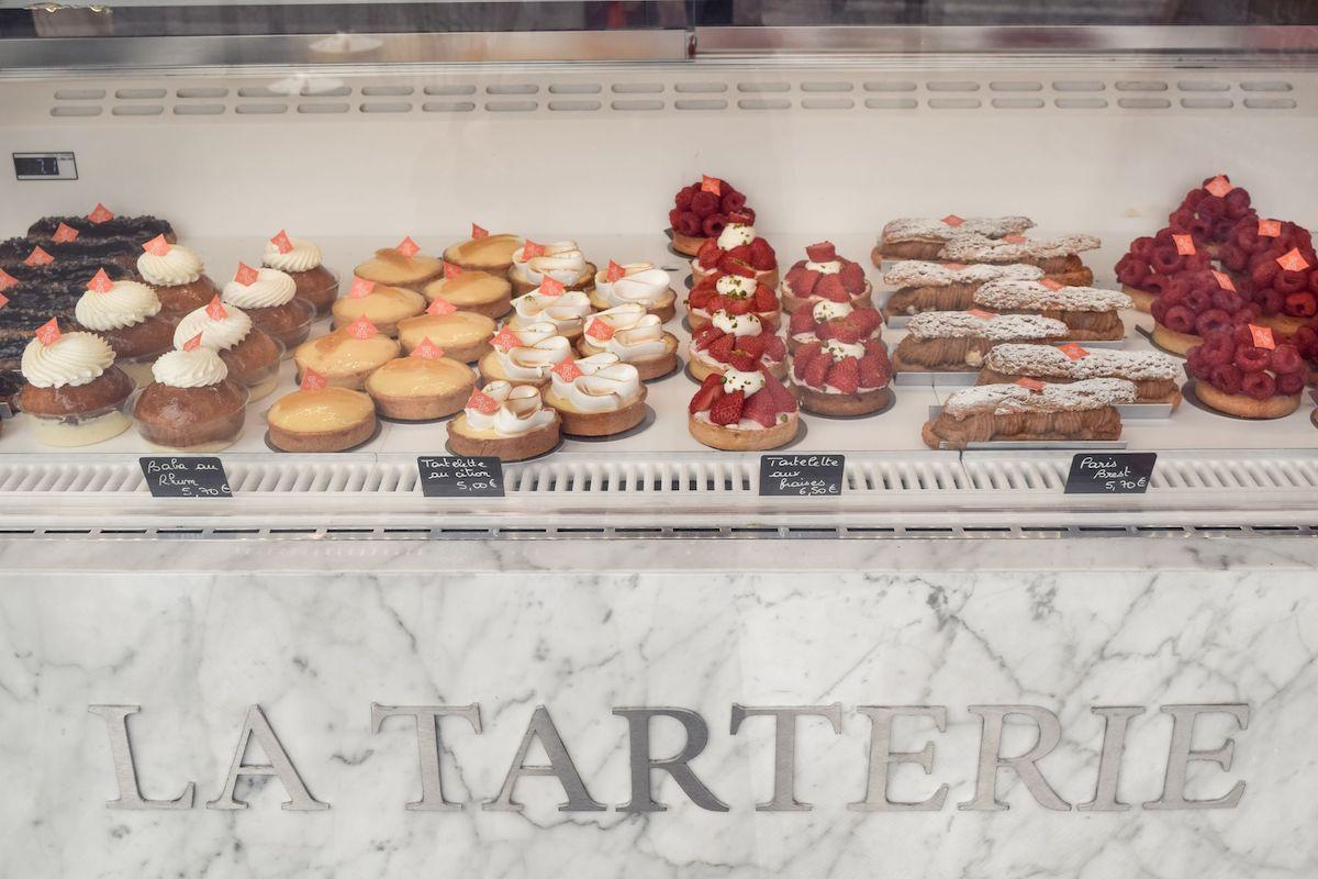 La Tarterie Pastries in Paris