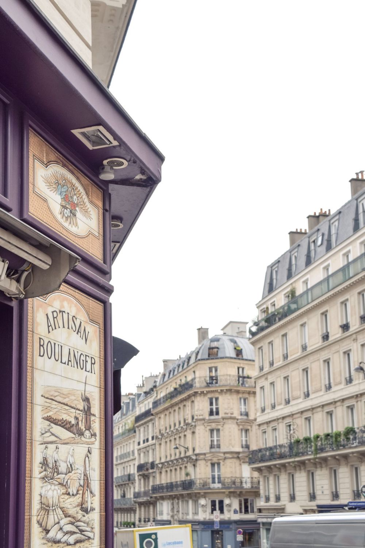 A boulangerie in the 5th, Paris