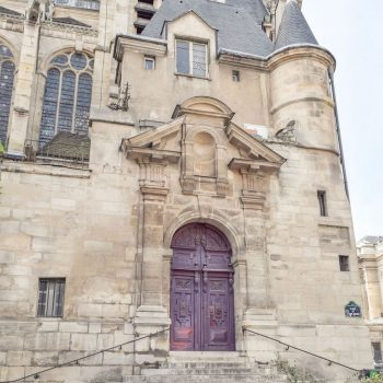 The steps where Midnight in Paris was filmed: Saint-Étienne-du-Mont Church
