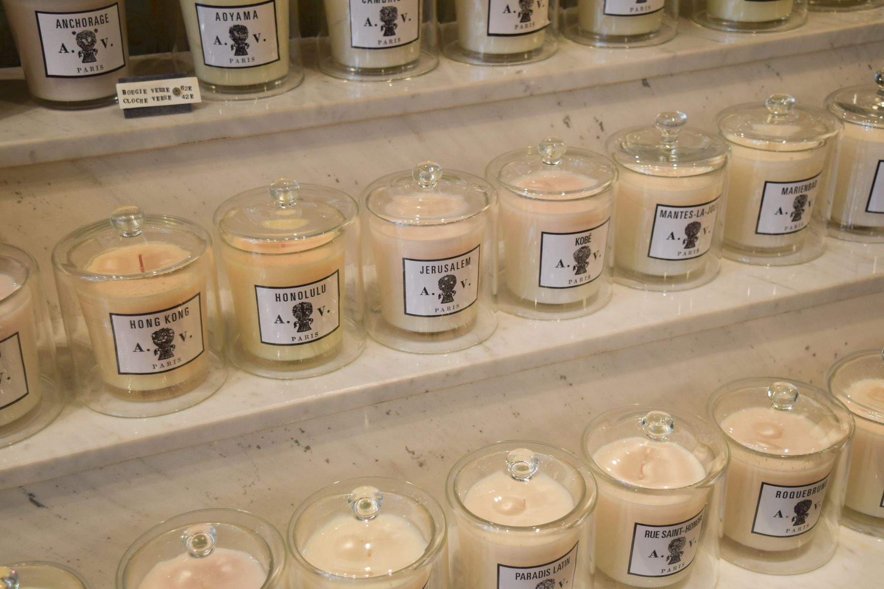 Astier de Villatte Candles, Paris