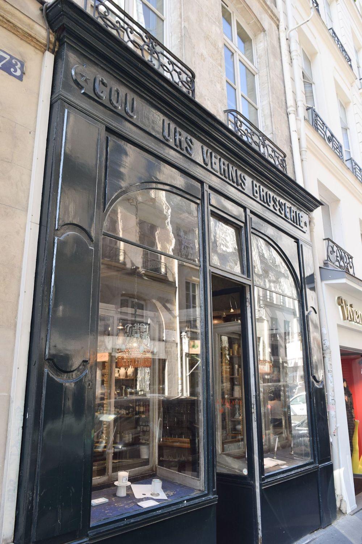 Astier de Villatte Storefront, Paris