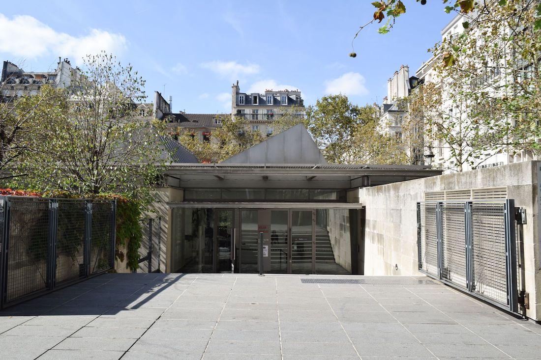 Atelier Brancusi Entrance, Paris