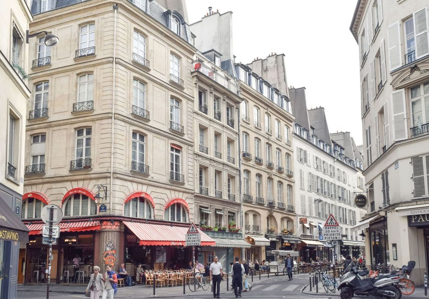 Bar du Marché, Travel Guide to Saint Germain, Paris
