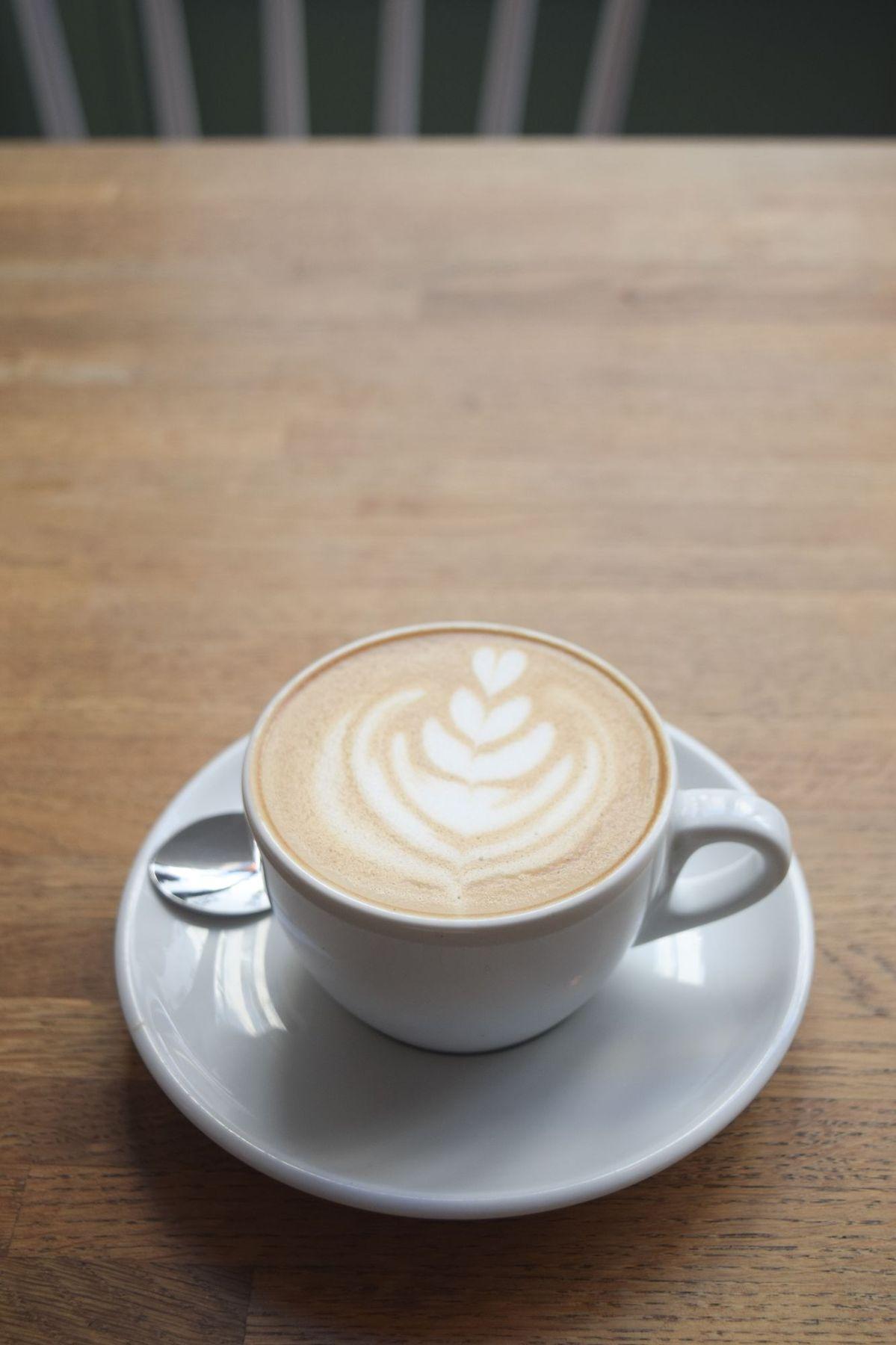 Coffee at Café Méricourt, Paris, France