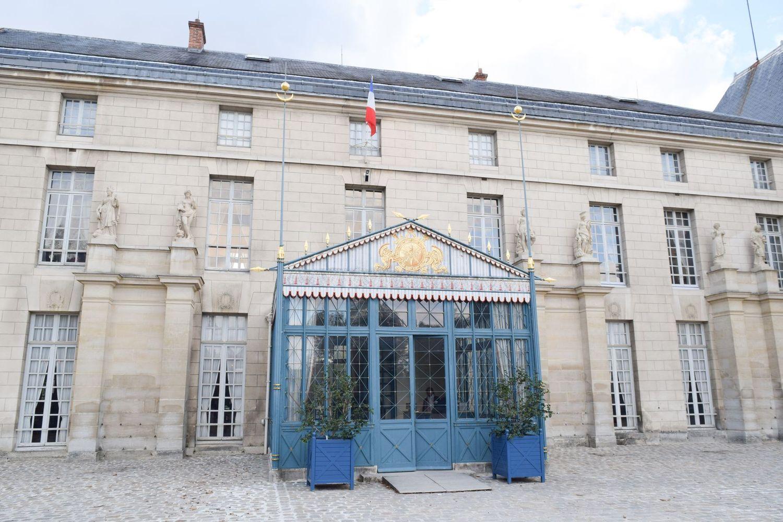 Château de Malmaison Entrance