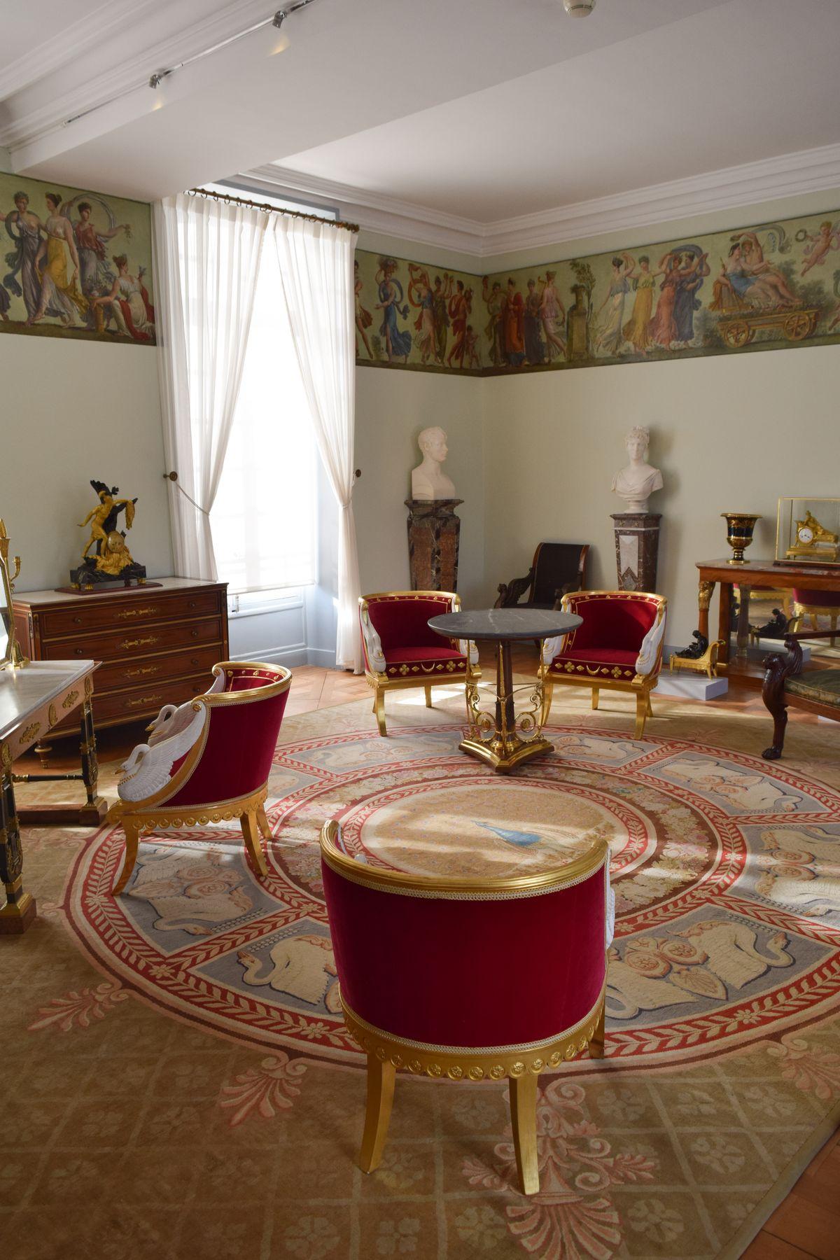 Château de Malmaison Sitting Room