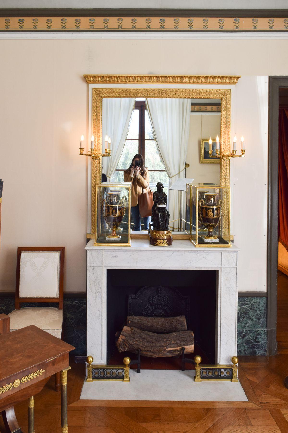 Château de Malmaison Fireplace French Mantel