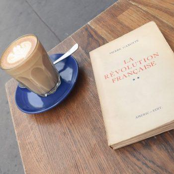 Latte at Fondation Cafe, Paris