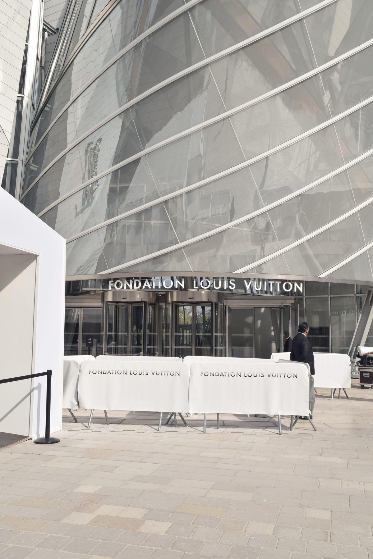 Fondation Louis Vuitton Entrance, Paris, France